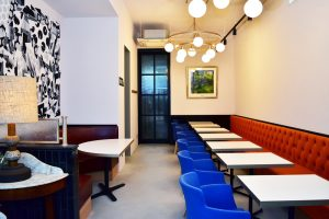 ブレッドランドナチュールのカフェスペース