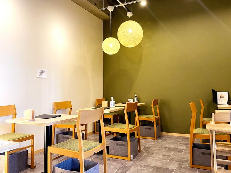 T's green omachi(ティーズグリーン オマチ)店内 わさび印認定!葵わさびの静岡散歩