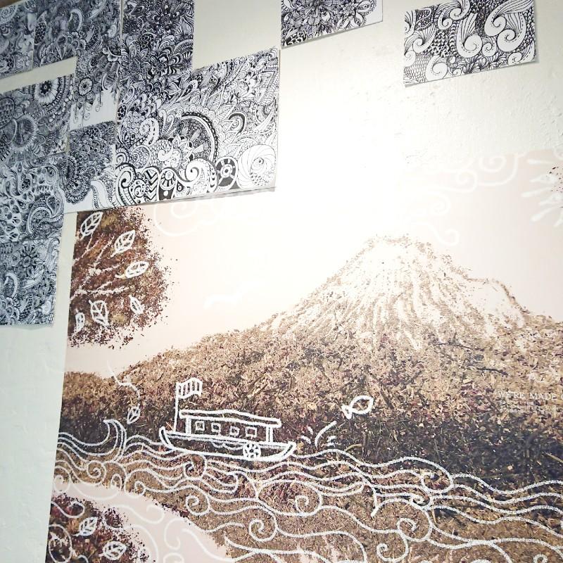 Leaf Paradise(リーフ パラダイス)茶葉で作られた富士山 わさび印認定!葵わさびの静岡散歩