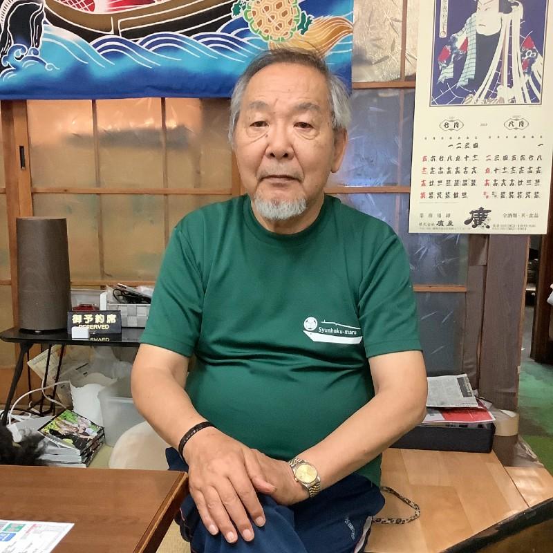 静岡おでん おがわ 店主小川さん わさび印認定!葵わさびの静岡散歩