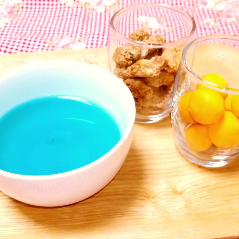 chagama(チャガマ)自宅で淹れたお茶と豆菓子 わさび印認定!葵わさびの静岡散歩