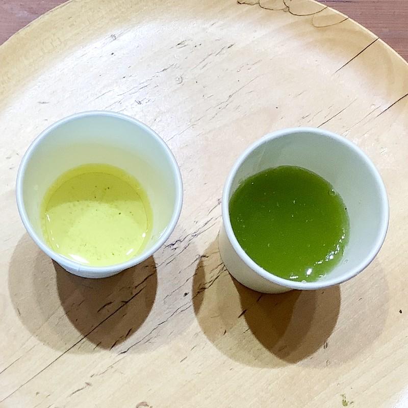 chagama(チャガマ)温度別で飲み比べ わさび印認定!葵わさびの静岡散歩