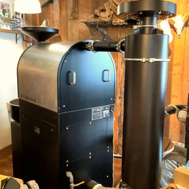 hug coffee(ハグ コーヒー)焙煎機 わさび印認定!葵わさびの静岡散歩